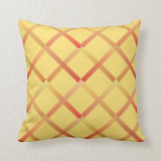 Trellis Pattern Throw Pillow Zazzle