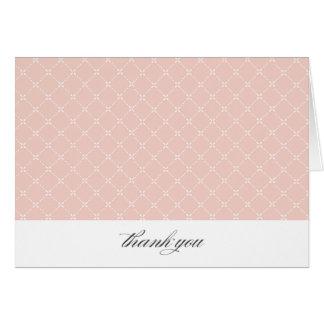 {trellis}  thank you card