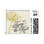 Trellis - Tying the Knot - Green Postage