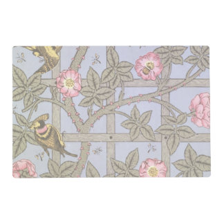 'Trellis' wallpaper design, 1864 2 Laminated Place Mat