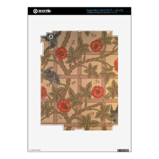'Trellis' wallpaper design, 1864 iPad 3 Skin