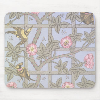 'Trellis' wallpaper design, 1864 Mouse Pad