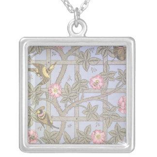 'Trellis' wallpaper design, 1864 Necklaces