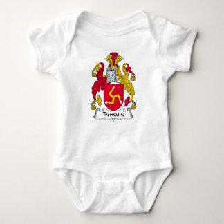 Tremaine Family Crest Baby Bodysuit