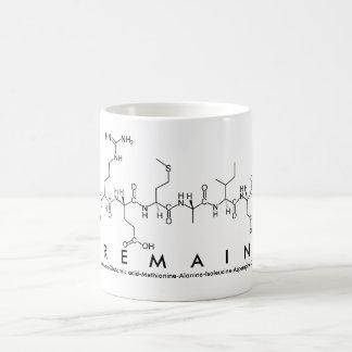 Tremaine peptide name mug