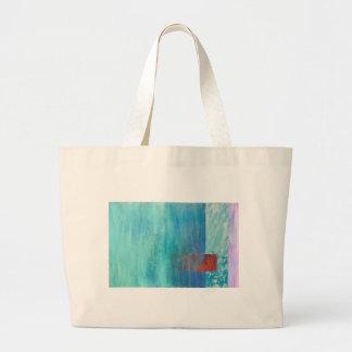 Trembled Large Tote Bag
