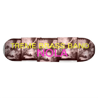 Treme Brass Band NOLA skateboard deck.