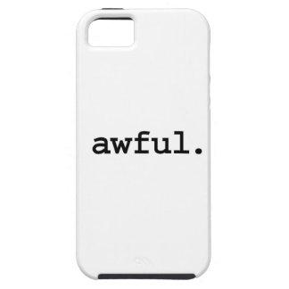 tremendo iPhone 5 Case-Mate fundas