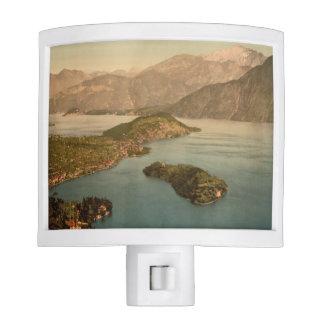 Tremezzina Bay, Lake Como, Lombardy, Italy Night Light