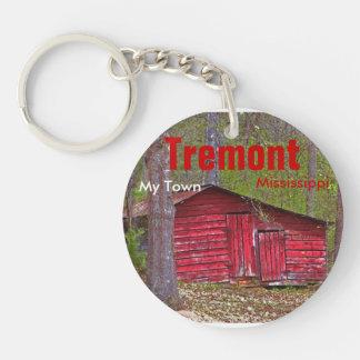 Tremont Mississippi My Town Keychain