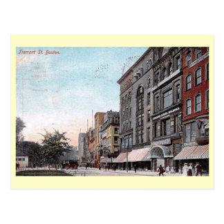Tremont St., Boston, Massachusetts Vintage Postcard