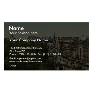 Tremont Street, Boston Mass. classic Photochrom Double-Sided Standard Business Cards (Pack Of 100)