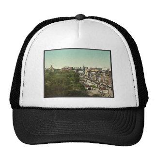 Tremont Street, Boston Mass. classic Photochrom Mesh Hat