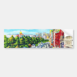 Tremont Street, Boston, Massachusetts Car Bumper Sticker