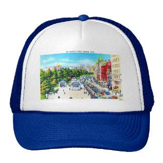 Tremont Street, Boston, Massachusetts Hats