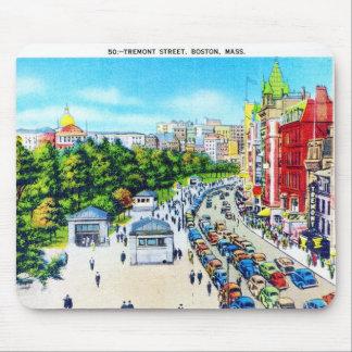 Tremont Street, Boston, Massachusetts Mouse Pad