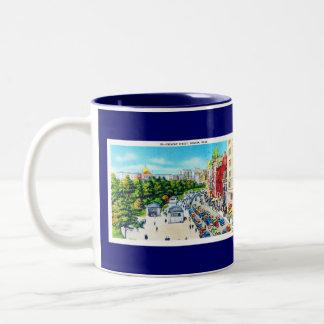 Tremont Street, Boston, Massachusetts Two-Tone Coffee Mug