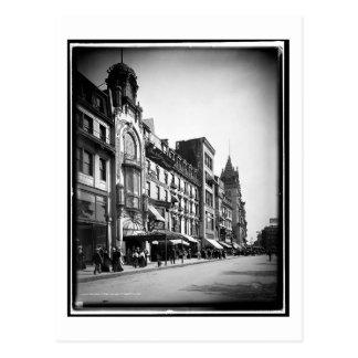 Tremont Street, looking south, Boston, MA Vintage Postcard