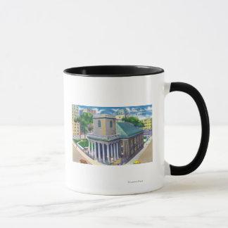 Tremont Street View of Kings Chapel Mug