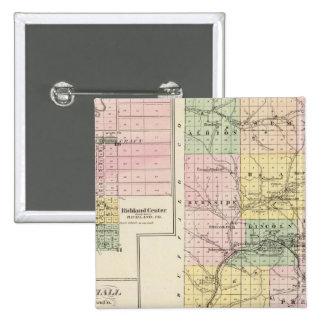 Trempealeau County, Wisconsin Pinback Button
