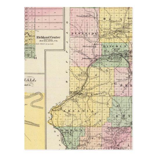 Trempealeau County, Wisconsin Postcard