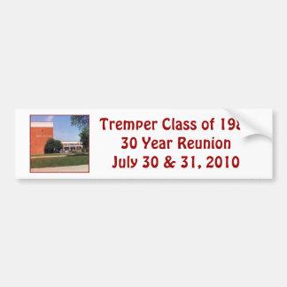 Tremper Class of 1980 Bumper Sticker