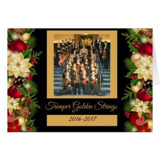 Tremper Golden Strings Holiday  Kenosha Wisconsin Card