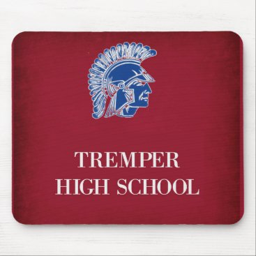 Beach Themed Tremper High School Mouse Pad