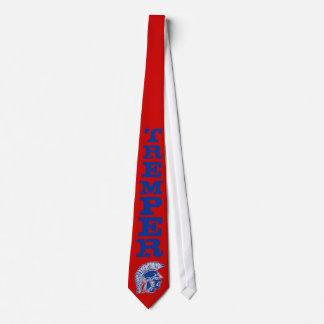 Tremper Trojan Tie - Scarlet/Blue
