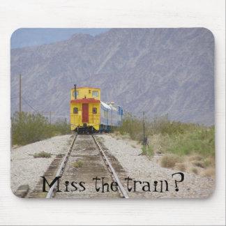 ¿tren 007, Srta. del nanovoltio el tren? Tapetes De Ratón