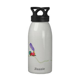 Tren 16oz. de la charla de Clickety Botella De Agua Reutilizable