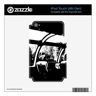 Tren 2 calcomanía para iPod touch 4G