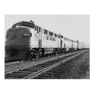 Tren #92 del motor diesel #9008 de GTW Eastbound Postal