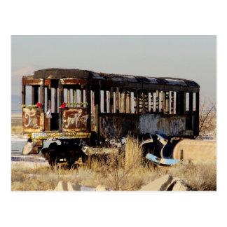 Tren abandonado postal
