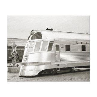 Tren aerodinamizado Zephyr, 1939 Impresión En Lona