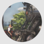 Tren - Alllll a bordo Pegatinas Redondas