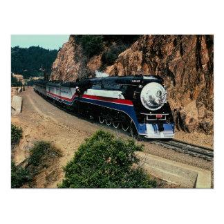 Tren americano 4449 en el cabo de Hornos, Californ Postal