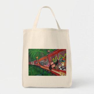 Tren animal de la selva bolsas