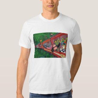 Tren animal de la selva remera