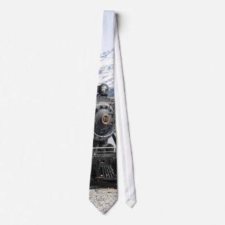 Tren blanco del paso en lazo de la nieve corbatas personalizadas
