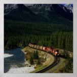 Tren canadiense poster