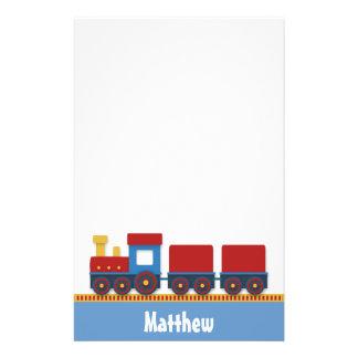 Tren colorido y lindo del juguete para los muchach  papeleria