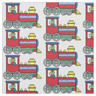 Tren con el ratón de biblioteca: Lectura expresa Telas