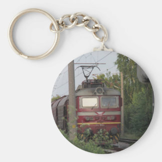 Tren de carga búlgaro llaveros personalizados