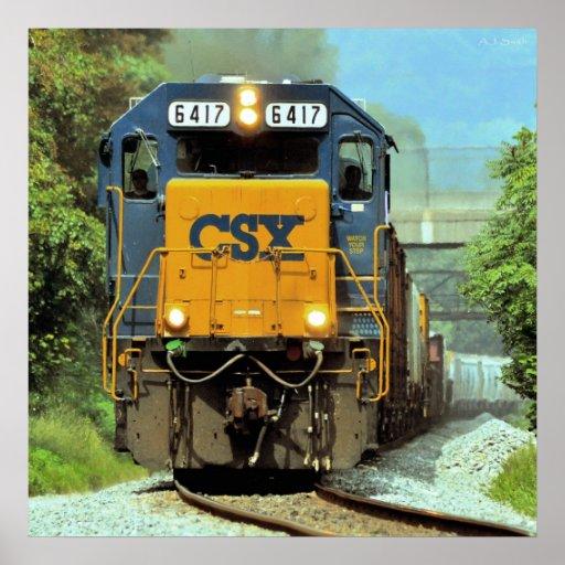 Tren de carga de Pennsylvania Impresiones