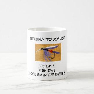 """Tren de carga - taza de la lista de la mosca de"