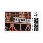 Tren de Chicago en Riverbend Sellos