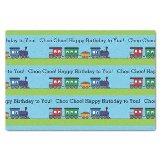 Tren de Choo Choo del cumpleaños