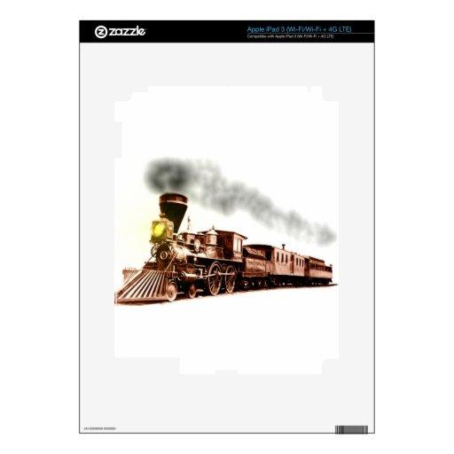 Tren de cobre iPad 3 skins