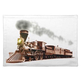 Tren de cobre mantel